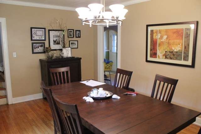 "Dining Room ""Before"" 