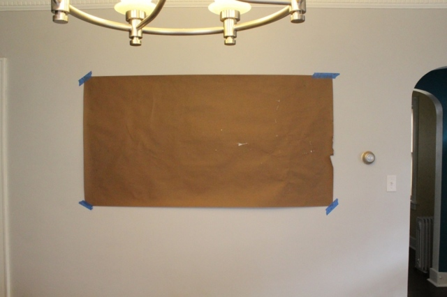DIY Map Art Hung with Velcro   This Nest is Best
